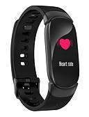 זול להקות Smartwatch-QW16 גברים Smart צמיד Android iOS Blootooth Smart ספורטיבי עמיד במים מוניטור קצב לב מסך מגע מד צעדים מזכיר שיחות מד פעילות מעקב שינה תזכורת בישיבה / מצאו את המכשירשלי / Alarm Clock / חיישן כבידה