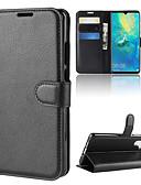 halpa Puhelimen kuoret-Etui Käyttötarkoitus Huawei Huawei P20 / Huawei P20 Pro / Huawei P20 lite Lomapkko / Korttikotelo / Flip Suojakuori Yhtenäinen Kova PU-nahka