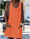 hesapli Kadın Elbiseleri-Kadın's Kumsal Kombinezon Elbise Mini