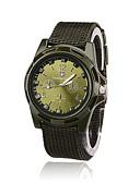 hesapli Asker Saat-Erkek Asker Saat Bilek Saati Quartz Naylon Siyah / Mavi / Yeşil Gündelik Saatler Analog-Dijital Vintage Moda - Siyah Yeşil Mavi Bir yıl Pil Ömrü