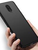 זול מגנים לטלפון-מארז אחד + 7 7 פרו רזה מאוד כיסוי אחורי מוצק צבע קשה PC Oneplus 5t 5 6t 6
