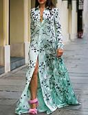 preiswerte Abendkleider-Damen A-Linie Kleid - Druck, Blumen Maxi