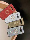 cheap Cellphone Case-Case For Samsung Galaxy Galaxy S10 Plus / Galaxy S10 E Rhinestone / Ring Holder Back Cover Solid Colored Soft TPU for S9 / S9 Plus / S8 Plus