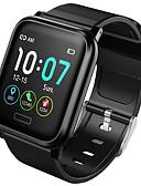 זול להקות Smartwatch-B1 גברים חכמים שעונים Android iOS Blootooth עמיד במים מסך מגע מוניטור קצב לב מודד לחץ דם ספורטיבי שעון עצר מד צעדים מזכיר שיחות מד פעילות מעקב שינה