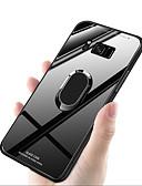 halpa Puhelimen kuoret-Etui Käyttötarkoitus Samsung Galaxy S9 / S9 Plus / S8 Plus Iskunkestävä / Sormuksen pidike Takakuori Yhtenäinen Kova TPU / Karkaistu lasi