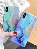 halpa iPhone kotelot-Etui Käyttötarkoitus Apple iPhone XS / iPhone XR / iPhone XS Max Himmeä / Kuvio Takakuori Marble Pehmeä TPU