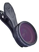 halpa Objektiivit ja tarvikkeet-Matkapuhelin Lens Suodatin-objektiivi / Laajakulmaobjektiivi lasi / Alumiiniseos 1X 37 mm 0.16 m 112 ° Uusi malli