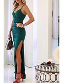 זול שמלות נשים-נשים, ברך, אורך, נדנדה, שמלה Foto ירוק, כחול, כחול, ים, l, xl