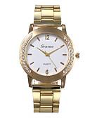cheap Women's Skirts-Women's Quartz Watches Casual Fashion Gold Alloy Chinese Quartz White Black Silver Diamond Casual Watch 30 m 1 pc Analog One Year Battery Life