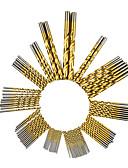 levne Vojenské hodinky-99 pcs Twist vrtací bit Multifunkční Více typů Více designů BEST 99PCS titanium-plated high-speed steel twist drill set Fit pro elektrické vrtačky