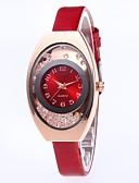 halpa Kvartsikellot-Naisten Quartz Tyylikäs minimalistinen Valkoinen Punainen Vaaleanpunainen PU Leather Kiina Quartz Purppura Tumma laivastonsininen Ruusun punainen Sievä Arkikello 30 m 1 kpl Analoginen Yksi vuosi