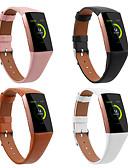 halpa Smartwatch-nauhat-Watch Band varten Fitbit Charge 3 Fitbit Urheiluhihna Aito nahka Rannehihna