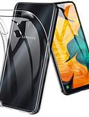 povoljno Maske za mobitele-Θήκη Za Samsung Galaxy A6 (2018) / A6+ (2018) / Galaxy A7(2018) Otporno na trešnju / Ultra tanko / Prozirno Stražnja maska Jednobojni Mekano TPU