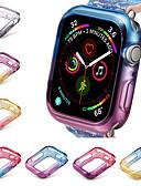 זול מטען כבלים ומתאמים-רזה במיוחד רזה במקרה רזה כיסוי עבור אפל שעון tpu 44mm 40mm במקרה סדרה 4 להגן על כיסוי מגן שעון להקות אביזרים