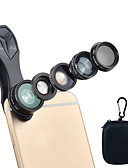 halpa Objektiivit ja tarvikkeet-Matkapuhelin Lens Suodatin-objektiivi / Kalansilmäobjektiivi / Pitkäpolttovälinen objektiivi lasi / Alumiiniseos / ABS + PC 2X 25 mm 10 m 198 ° Luova / Lovely / Hauska