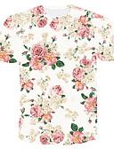 お買い得  メンズブレザー&スーツ-男性用 Tシャツ カラーブロック ピンク XXL