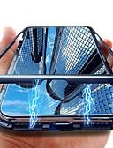 זול מגנים לטלפון-מגן עבור Huawei Huawei P20 / Huawei P20 Pro / Huawei P20 lite שקוף כיסוי אחורי שקוף קשיח זכוכית משוריינת / P10 Lite / P10