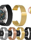 זול להקות Smartwatch-צפו בנד ל Huawei שעונים GT / Watch 2 Pro Huawei רצועת ספורט / לולאה בסגנון מילאנו מתכת / מתכת אל חלד רצועת יד לספורט