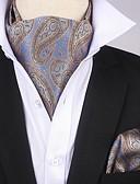 abordables Corbatas y Pajaritas para Hombre-Hombre Cravat y Ascot - Fiesta / Paravientos: Estampado / Cachemir / Jacquard
