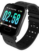 Недорогие Цифровые часы-Муж. электронные часы Цифровой силиконовый Черный / Синий 30 m Защита от влаги Bluetooth Smart Цифровой На открытом воздухе Мода - Черный Черный / оранжевый Синий