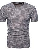 hesapli Erkek Tişörtleri ve Atletleri-Erkek V Yaka Tişört Solid Yonca