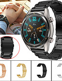 זול להקות Smartwatch-צפו בנד ל Huawei שעונים GT / Watch 2 Pro Huawei רצועת ספורט מתכת / מתכת אל חלד רצועת יד לספורט