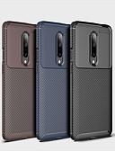 halpa Puhelimen kuoret-Etui Käyttötarkoitus OnePlus One Plus 7 Iskunkestävä Takakuori Geometrinen printti Pehmeä TPU