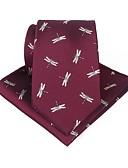 abordables Corbatas y Pajaritas para Hombre-Hombre Cravat y Ascot - Fiesta / Trabajo / Activo Estampado / Jacquard