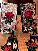 Недорогие Кейсы для iPhone-Кейс для Назначение Apple iPhone XS / iPhone XR / iPhone XS Max С узором Кейс на заднюю панель Цветы Твердый Акрил