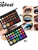 hesapli Göz Farları-29 Renk Göz Farları Göz / Kozmetik / Göz Farı Su Geçirmez / Mat / Pırıl Pırıl / Işıltılı Parlak / kalıcı / dumanlı Makijaż dzienny / Makijaż na Halloween / Makijaż imprezowy Kozmetik