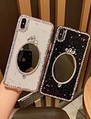 זול מגנים לאייפון-מגן עבור Apple iPhone XS / iPhone XR / iPhone XS Max מראה כיסוי אחורי זוהר ונוצץ רך TPU