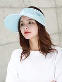 halpa Naisten hatut-Naisten Aktiivinen Perus söpö tyyli Pesäpallolippis-Yhtenäinen Puuvilla Polyesteri Kevät Kesä Beesi Vaaleanpunainen / Valkoinen Vaalean sininen