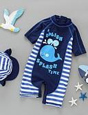 זול בגדי ים לבנים-בגדי ים כותנה פסים בנים ילדים