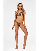 זול בגדי ים וביקיני-פוליאסטר בגדי ים & ביקיני סקסית נמר ביקיני Leopard