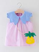 זול שמלות לתינוקות-שמלה ללא שרוולים פירות בנות תִינוֹק