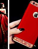 hesapli iPhone Kılıfları-Pouzdro Uyumluluk Apple iPhone XS / iPhone XR / iPhone XS Max Taşlı Arka Kapak Solid Sert TPU