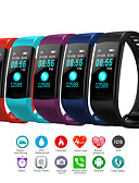 זול שעונים דיגיטלים-בגדי ריקוד גברים שעון דיגיטלי דיגיטלי גומי שחור / כחול / אדום 30 m עמיד במים בלותוט' Smart דיגיטלי חוץ אופנתי - שחור אדום כחול שנה אחת חיי סוללה