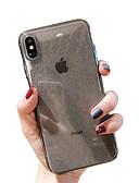 זול מגנים לאייפון-מארז iPhone xr / iPhone xs מקסימום נצנוץ ברק / שקוף בחזרה לכסות מוצק צבע רך tpu עבור x x x 8 x 8 8 7 7plus 6 6plus 6s 6s פלוס