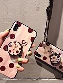 זול מגנים לאייפון-מארז עבור iPhone 6 / iPhone x דפוס / עם כיסוי גב כיסוי לב רך tpu עבור iPhone 6 / iPhone 6 פלוס / iPhone 6s עבור iPhone 6 / iPhone 6 פלוס / iPhone 6s 7 8 x xx xsmax xrax