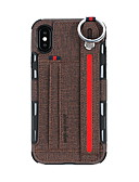 זול מגנים לאייפון-מארז iPhone 6 / iPhone xs מקסימום עם מעמד / ארנק / מחזיק כרטיס חזרה הכריכה מוצק צבעוני קשה pu עור עבור iPhone 6 / iPhone 6 פלוס / iPhone 7