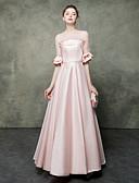 זול שמלות ערב-גזרת A עם תכשיטים עד הריצפה ג'רסי נשף רקודים שמלה עם חרוזים על ידי LAN TING Express