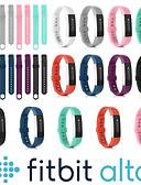 זול להקות Smartwatch-צפו בנד ל Fitbit Alta HR / Fitbit Alta פיטביט רצועת ספורט סיליקוןריצה רצועת יד לספורט