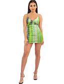 povoljno Bikinis-Žene Slim Korice Haljina Duboki V Mini