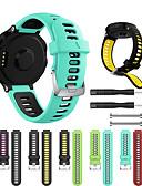 זול להקות Smartwatch-צפו בנד ל Approach S6 / Approach S5 / Forerunner 630 Garmin רצועת ספורט סיליקוןריצה רצועת יד לספורט