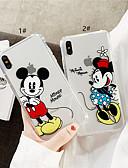 זול מגנים לאייפון-מארז iPhone xr / iPhone xs מקס דפוס / שקוף חזרה כיסוי קריקטורה רכה tpu עבור 6 6 ועוד 6s 6splus 7 8 7plus 8 x x x x x