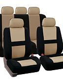 זול שמלות לילדות פרחים-9pcs מושבים לרכב מכסה עבור 5 מושב רכב אוניברסלי יישום 4 עונות זמין