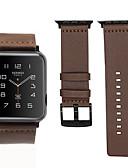 Недорогие Smartwatch Bands-браслет из натуральной кожи ремешок для часов ремешок для яблока серии 1/2/3/4 38 мм 40 мм 42 мм 44 мм