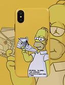 Недорогие Кейсы для iPhone-Кейс для Назначение Apple iPhone XS / iPhone XR / iPhone XS Max С узором Кейс на заднюю панель Мультипликация Мягкий ТПУ