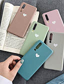 hesapli Cep Telefonu Kılıfları-Pouzdro Uyumluluk Huawei Huawei P20 / Huawei P20 Pro / Huawei P30 Temalı Arka Kapak Kalp Yumuşak TPU / P10