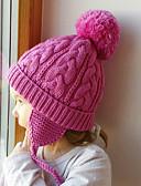זול ילדים צעיפים-מידה אחת בז' / כחול נייבי / אפור כובעים ומצחיות כותנה אחיד / אותיות בסיסי יוניסקס ילדים